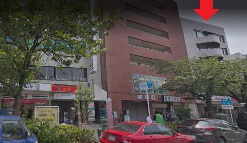 本社入居ビル(1階がドコモさん) ※左下の桜新町駅出口から徒歩1分